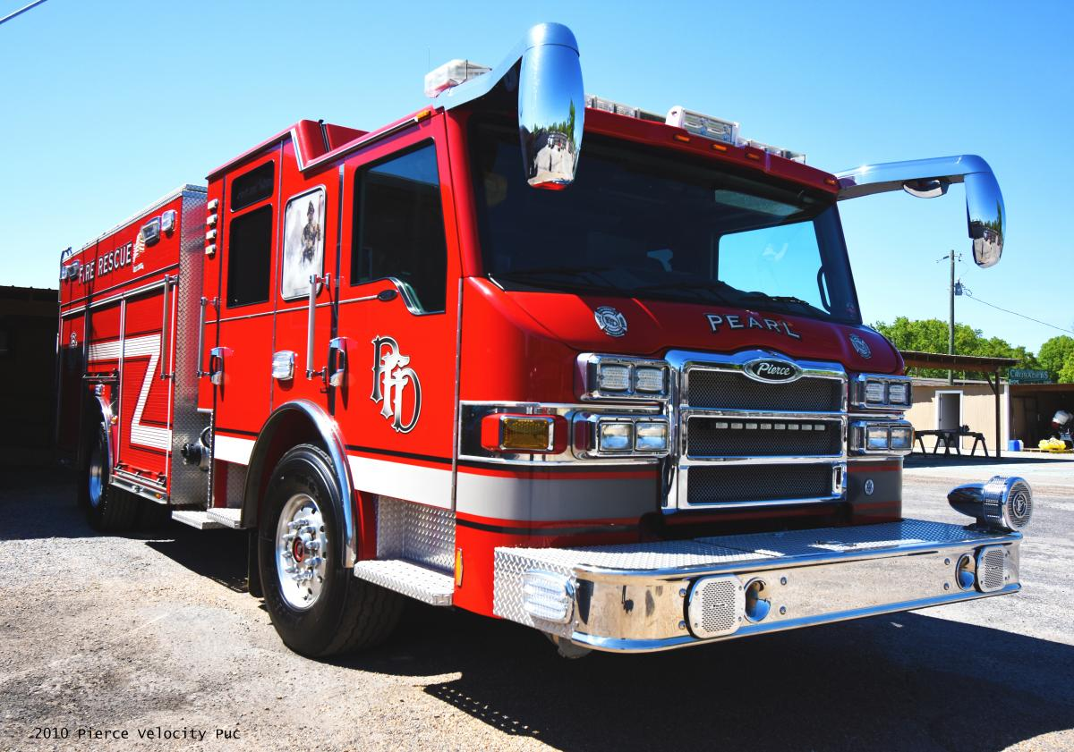City of Pearl, Mississippi Fire Department Firetruck