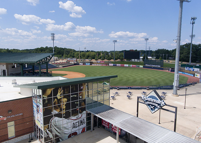 Trustmark Park in Pearl, MS