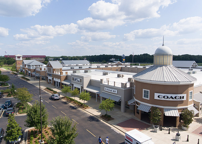 Outlet mall in Pearl, Mississippi