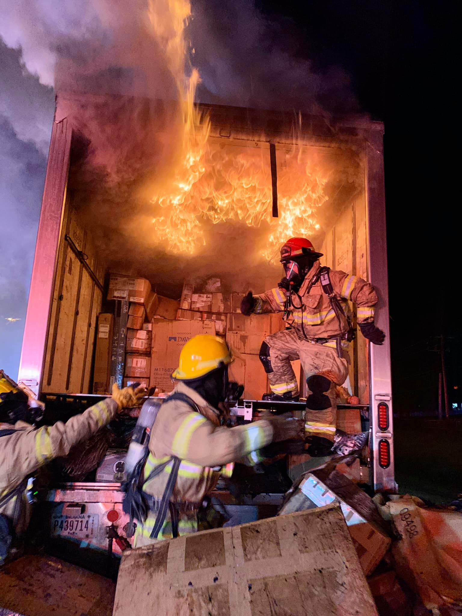 Fedex fire