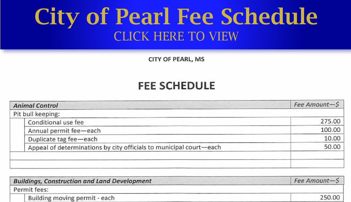 FEE SCHEDULE ICON2b