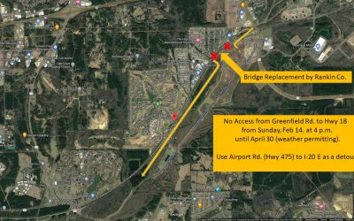 Rankin County Supervisors To Replace Bridge on Greenfield Road Near Patrick Farms Subdivision