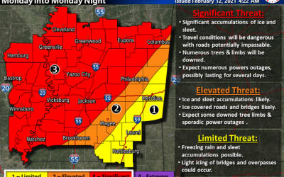 Prepare for Significant Ice/Sleet Possible on Monday.