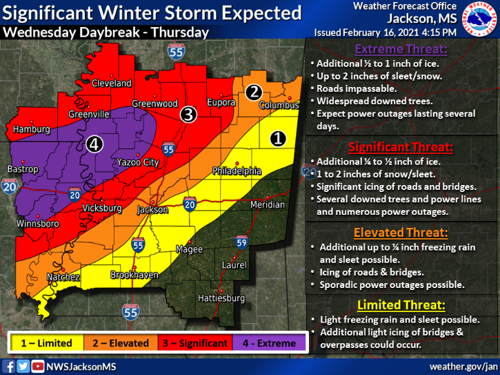 Second Winter Storm Possible Wednesday