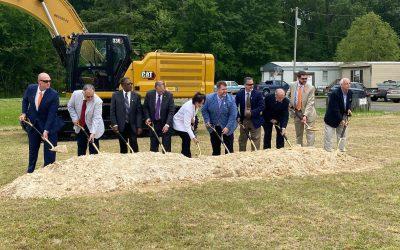 Groundbreaking for the Pearl-Richland Intermodal