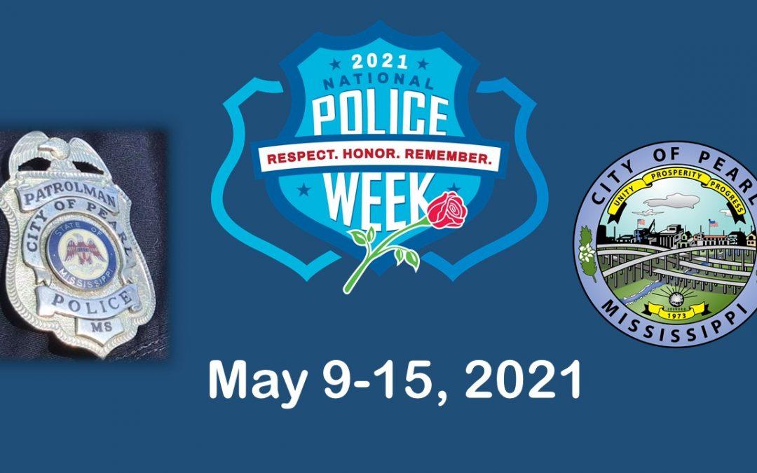 National Police Week May 9-15
