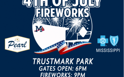 Pearl Partnership Brings 4th of July Fireworks Back to Trustmark Park