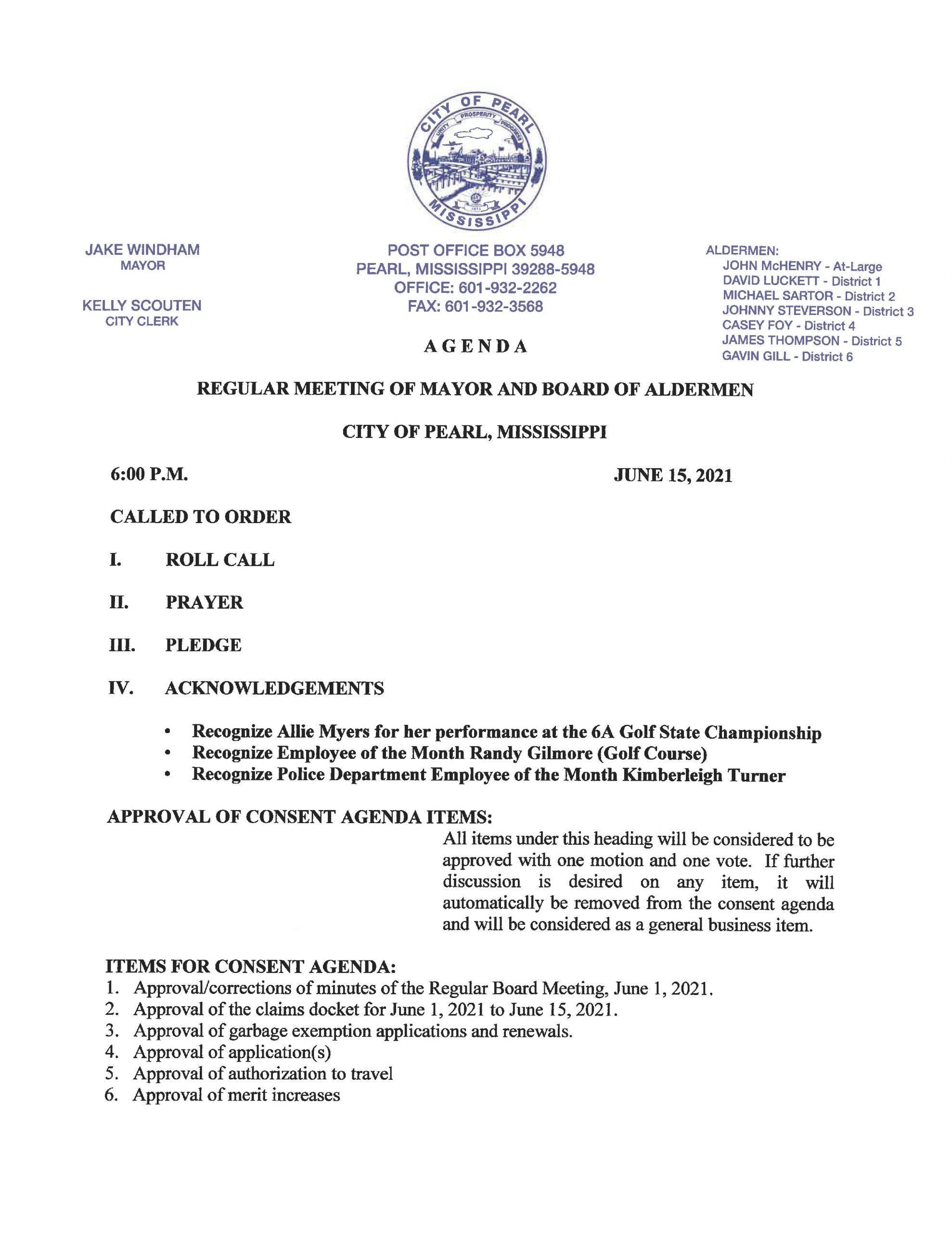 June 15 2021 Agenda_Page_1