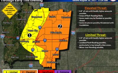 Ida Weather Update 8.30.21