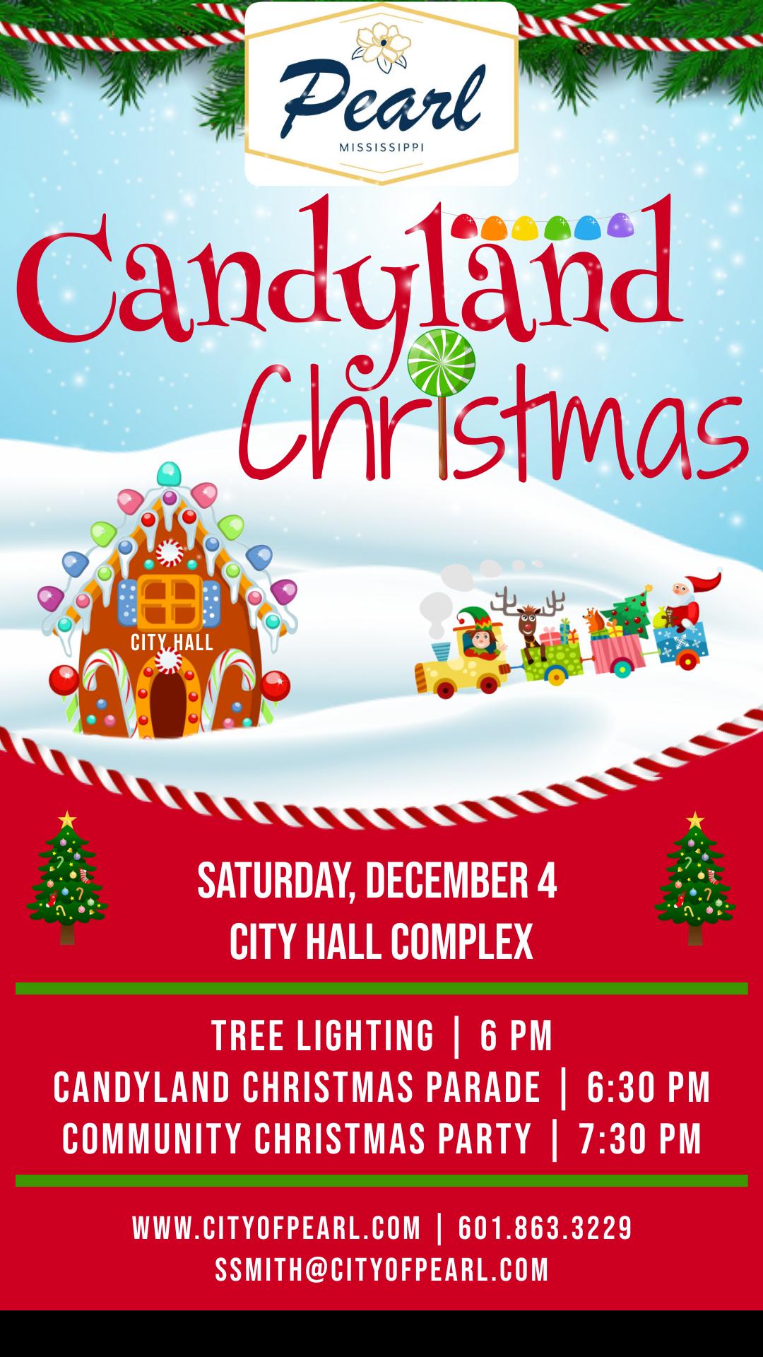 Candyland Christmas 2021