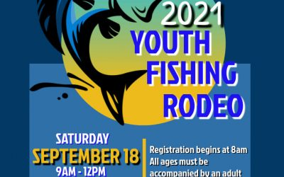 Youth Fishing Rodeo Sept. 18!