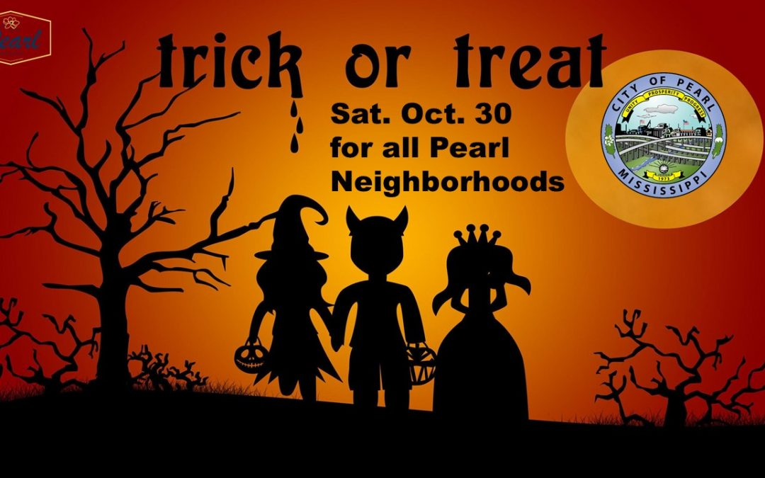 Trick or Treating on Sat. Oct. 30.